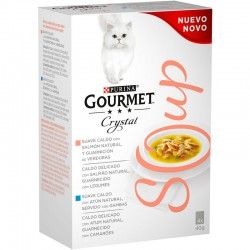 Gourmet Soup Salmon MP 10(4x40g)
