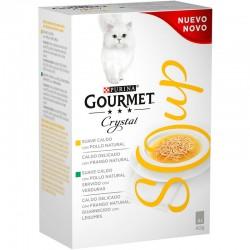 Gourmet Nature´s Creation Soup Pollo 10 4X40Gr