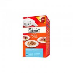 Gourmet Mon Petit Selec. Pescados Mpack 8X6X50Gr