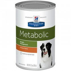Hill's PD Canine Metabolic Lata 370GrX12Ud 2101M