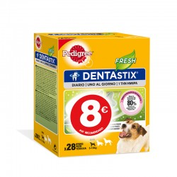 Pedigree Dentastix Multipack Fresh Peq 4Ud PVP