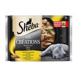 Sheba Craft Les Creations Pollo 13X4X85Gr