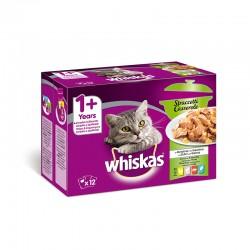 Whiskas 12Pack Casserole Mixto 12X85Gr