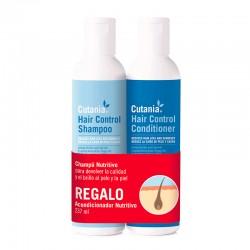 Cutania Hair Control Pack Champu y Acondicionador