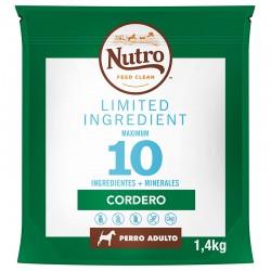 Nutro Lim.Perro Adulto R.Md. Cord.1,4Kg PVPR 9,99