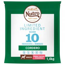 Nutro Lim.Perro Adulto R.Pq. Cord.1,4Kg PVPR 9,99