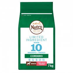 Nutro Lim.Perro Adulto R.Pq. Cord.7Kg PVPR 44,99
