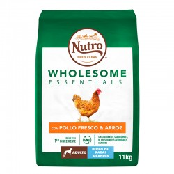 Nutro W.Essentials Perro Adulto Grande Pollo 11Kg