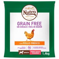 Nutro GF Perro Adult Pequeño Pollo 1,4Kg PVPR 9,99