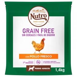 Nutro GF Perro Adult R.Md.Pollo 1,4Kg PVPR 9,99