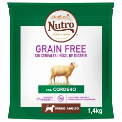 Nutro GF Perro Adult Mediano Cord.1,4Kg PVPR 9,99