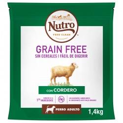 Nutro GF Perro Adult R.Md. Cord.1,4Kg PVPR 9,99