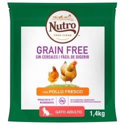 Nutro GF Gato Adulto Pollo 1,4Kg PVPR 9,99