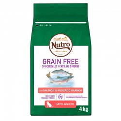 Nutro GF Gato Adulto Salmon 4Kg PVPR 24,99