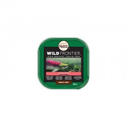 Nutro W.Frontier Tarrina Salmon/P.B 20X300Gr