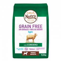 Nutro GF Perro Adult Light Corde. 9,5Kg PVPR 52,99