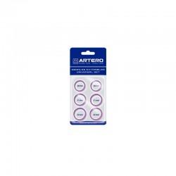 Artero Set Dedales Purpura 6Uds