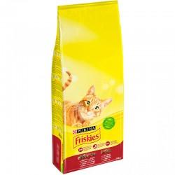 Friskies Cat Adult Buey/Hgd/Verd 20kg