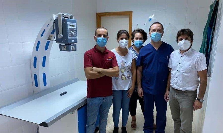 Reciente instalación sistema de radiografía digital directo Compact DR en el Centro Veterinario Oasis en Gran Canaria