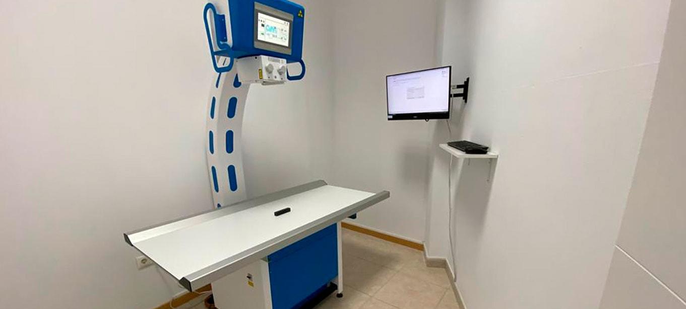 sistema de radiografia directa digital