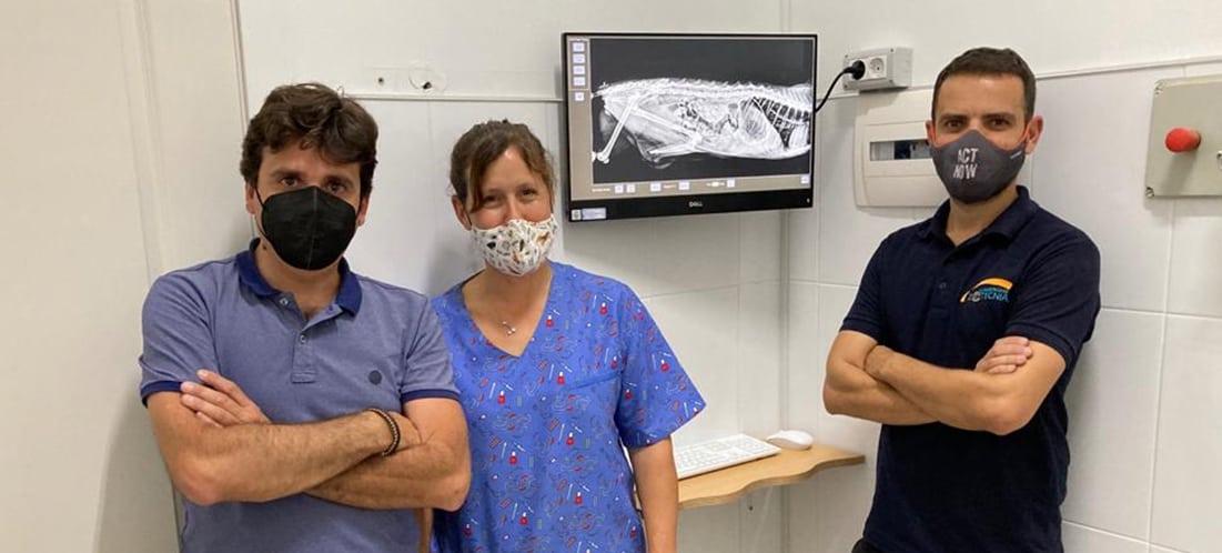 instalación revelador digital rayos x